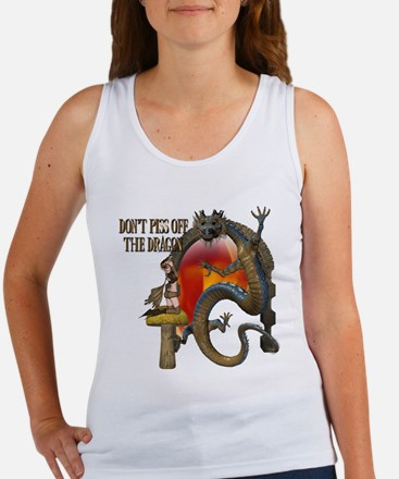 Angry Dragon Women's Tank Top
