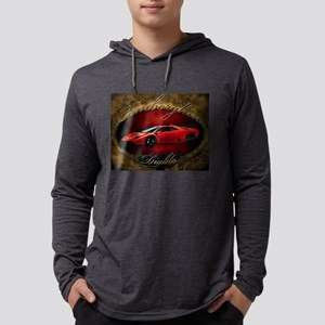 Red Lamborghini Diab Long Sleeve T-Shirt