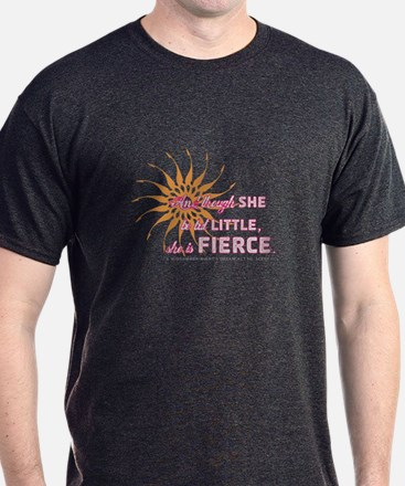 She is Fierce - Grunge T-Shirt