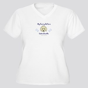 labradoodle gifts Women's Plus Size V-Neck T-Shirt