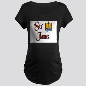 Sir James Maternity Dark T-Shirt