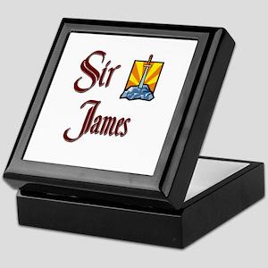 Sir James Keepsake Box