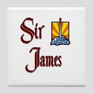 Sir James Tile Coaster