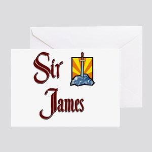 Sir James Greeting Card