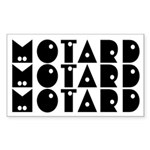Deadhorse Motard Rectangle Sticker