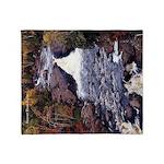 Beaver River Falls Throw Blanket