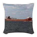Lee A. Tregurtha Woven Throw Pillow