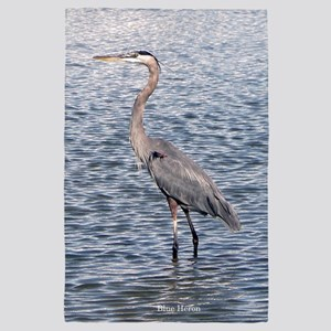 Blue Heron Water 4' X 6' Rug