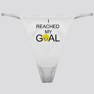 Reached My Goal Classic Thong