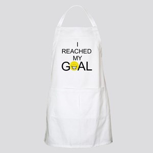 Reached My Goal BBQ Apron