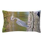 Blue Heron Pillow Case