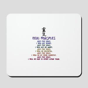 REIKI PRINCIPLES. A Hapealo Design Mousepad