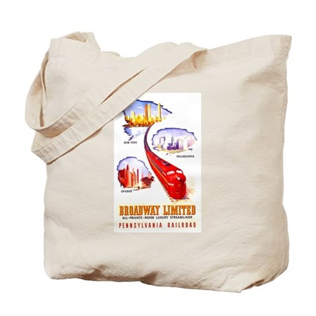 Broadway Limited PRR Tote Bag