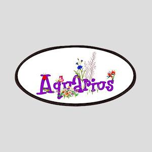 Aquarius Flowers Patch