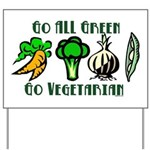 Go All Green 2 Yard Sign