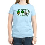 Go All Green 2 Women's Light T-Shirt