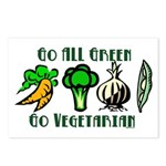 Go All Green 2 Postcards (Package of 8)