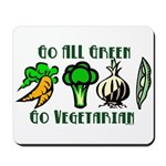 Go All Green 2 Mousepad