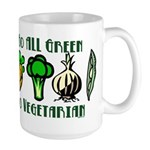 Go All Green 2 Large Mug
