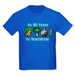 Go All Green 2 Kids Dark T-Shirt