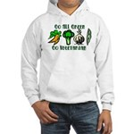 Go All Green 2 Hooded Sweatshirt