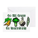Go All Green 2 Greeting Cards (Pk of 10)