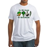 Go All Green 2 Fitted T-Shirt