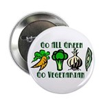 "Go All Green 2 2.25"" Button (10 pack)"