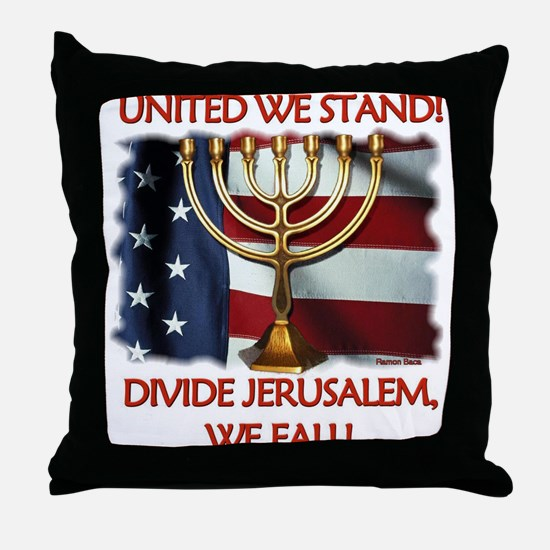 United We Stand! Throw Pillow