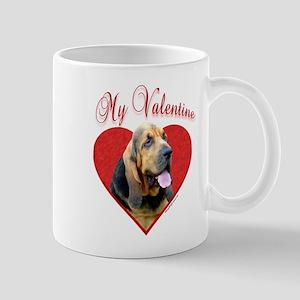 Bloodhound Valentine Mug