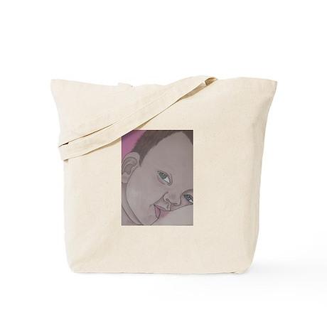 toddler nursing Tote Bag