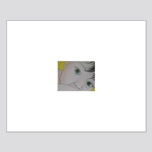 green eyes nursing Small Poster