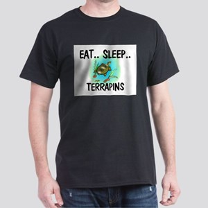 Eat ... Sleep ... TERRAPINS Dark T-Shirt