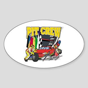 Flying High Motocross Oval Sticker