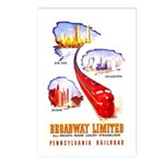 Broadway Limited PRR Postcards (Package of 8)