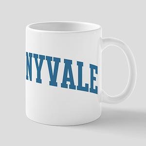 Sunnyvale (blue) Mug
