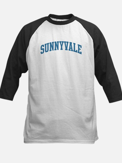 Sunnyvale (blue) Kids Baseball Jersey