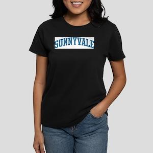 Sunnyvale (blue) Women's Dark T-Shirt