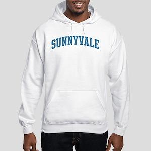 Sunnyvale (blue) Hooded Sweatshirt