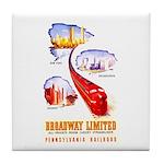 Broadway Limited PRR Tile Coaster