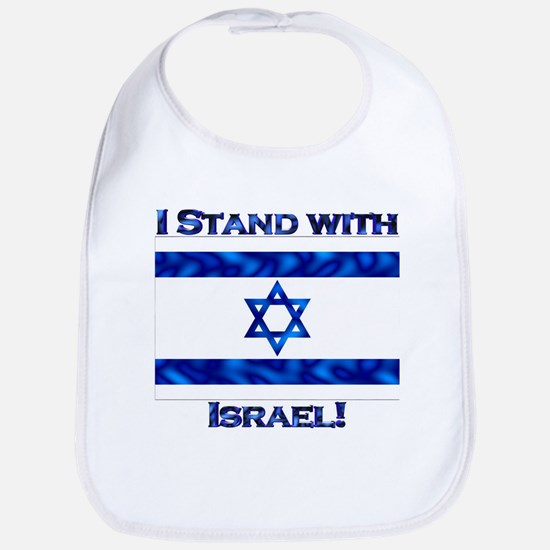I Stand With Israel Bib