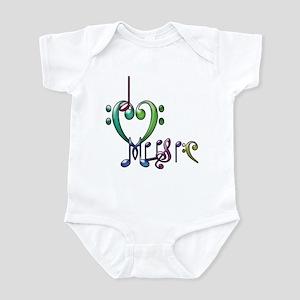 I Love Music Infant Creeper