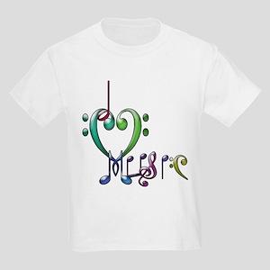 I Love Music Kids T-Shirt