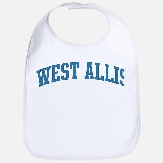West Allis (blue) Bib