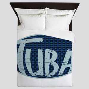Winter Tuba Queen Duvet