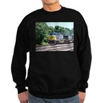 CSX Q190 Doublestack Train Sweatshirt (dark)