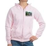 CSX Q190 Doublestack Train Women's Zip Hoodie