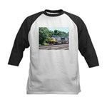 CSX Q190 Doublestack Train Kids Baseball Jersey
