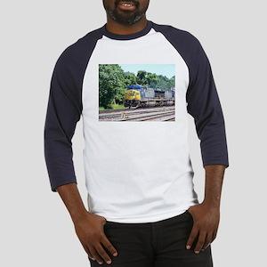 CSX Q190 Doublestack Train Baseball Jersey