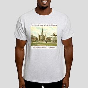 Jackson Square Ash Grey T-Shirt